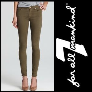 7 for all Mankind Ankle Skinny 27